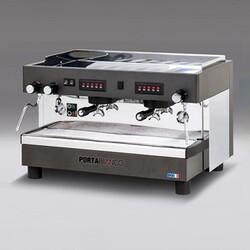 Portabianco Tall Cup Tam Otomatik Espresso Kahve Makinesi, 2 Gruplu - Thumbnail