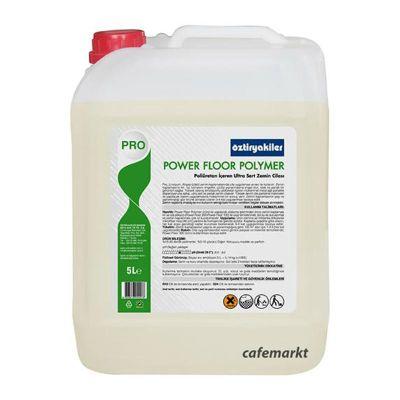 Öztiryakiler Power Floor Polymer Sert ve Parlak Zemin Cilası, 5 L