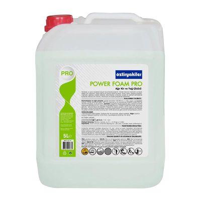 Öztiryakiler Power Foam Pro Ağır Kir ve Yağ Sökücü, 5 L