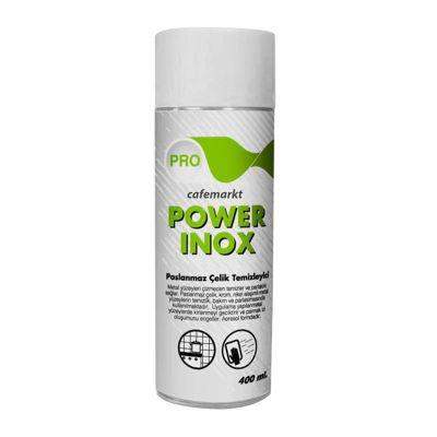 Öztiryakiler Power Inox Paslanmaz Yüzeyler İçin Deterjan, 0.40 L