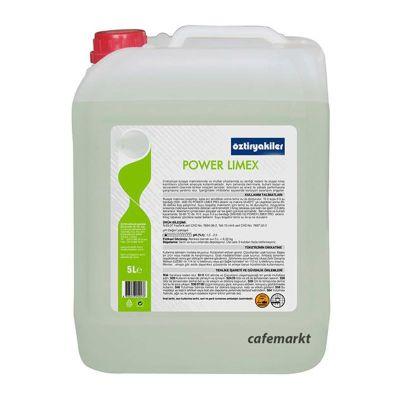 Öztiryakiler Power Limex Eco Bulaşık Makine Kireç Çözücü, 5 L