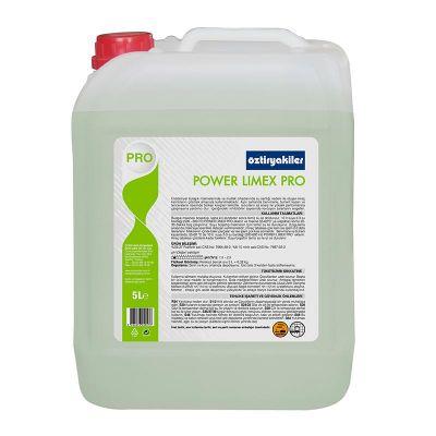 Öztiryakiler Power Limex Pro Bulaşık Makinası Kireç Sökücü, 5 L