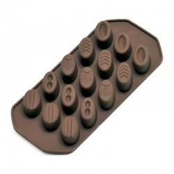 Kaiser - Kaiser Pralinen Çikolata Kalıbı, Silikon, Oval (1)