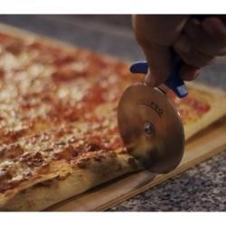 Gi-Metal Pro-Line Pizza Bıçağı & Ruleti, Düz, 26x10 cm - Thumbnail