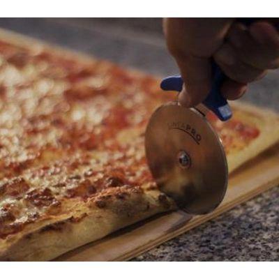 Gi-Metal Pro-Line Pizza Bıçağı & Ruleti, Düz, 26x10 cm