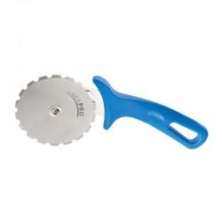 Gi-Metal Pro-Line Pizza Bıçağı & Ruleti, Tırtıklı, 26x10 cm - Thumbnail