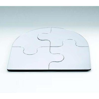 Zicco Puzzle Ayna Teşhir Standı, Köşeli, 50 cm