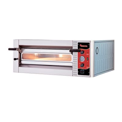 Rinnova Geniş Model Pizza Fırını, Tek Katlı, Analog Kontrol, Elektrikli, 108x72 cm