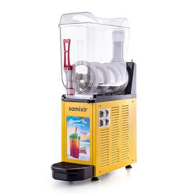 Samixir - Samixir Allure Ice Slush Granita Soğuk Meyve Suyu Dispenseri, 12 L, Sarı (1)