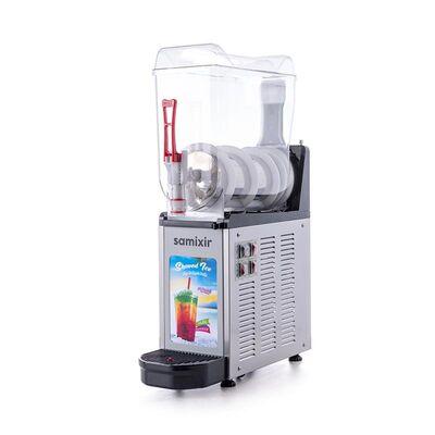 Samixir - Samixir Allure Twin Ice Slush Granita ve Soğuk Meyve Suyu Dispenseri, 12 L, Inox (1)