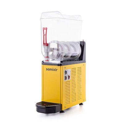 Samixir - Samixir Mono Ice Slush Granita ve Soğuk Meyve Suyu Dispenseri, 12 L, Sarı (1)