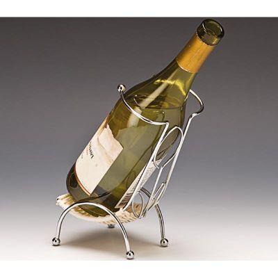 Zicco Dik Tip Şarap Standı, Hasır, Telli, 70'lik