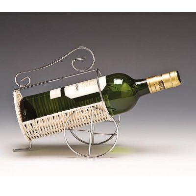 Zicco Yatay Model Şarap Standı, Hasır, Telli, 70'lik