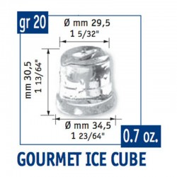Scotsman AC 86 Gurme Buz Makinesi, Hazneli, Kapasite 40 kg/gün, 480 W - Thumbnail