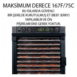 Sedona Express SD-P6780-F Meyve ve Sebze Kurutma Makinesi, 11 Tepsi Kapasiteli - Thumbnail