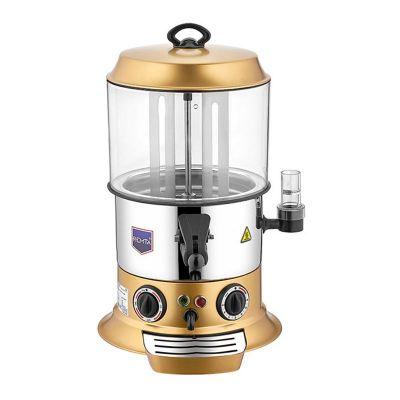 Remta Sıcak Çikolata & Sahlep Makinesi, 9 L, Gold