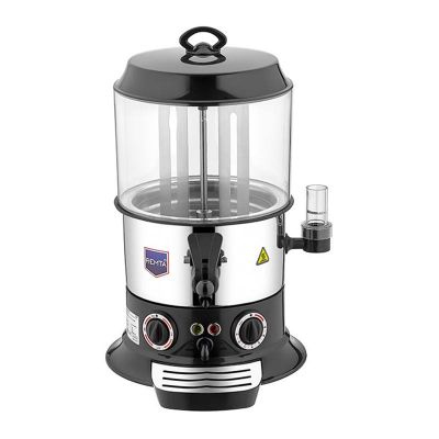 Remta Sıcak Çikolata & Sahlep Makinesi, 9 L, Siyah