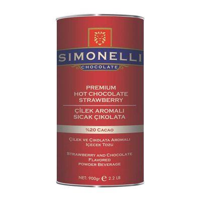 Simonelli Sıcak Çikolata, Çilekli, 900 gr
