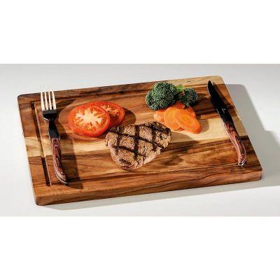 Zicco Akasya Steak Tahtası, 25x35 cm, Kalınlık 1.8 cm