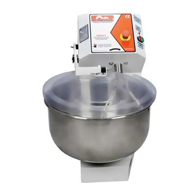 Süper Mikser - Süper Mikser Hamur Yoğurma Makinesi, Kapaklı, Sensörlü, 10 kg (1)