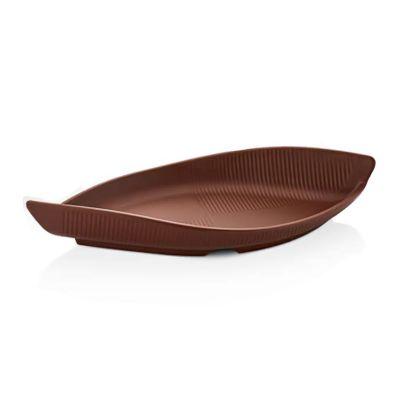 Külsan Thermoset Tabak, Gondol Model, 35.6x15.8 cm, Kahverengi