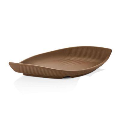 Külsan Thermoset Tabak, Gondol Model, 28.6x12.7 cm, Sütlü Kahve