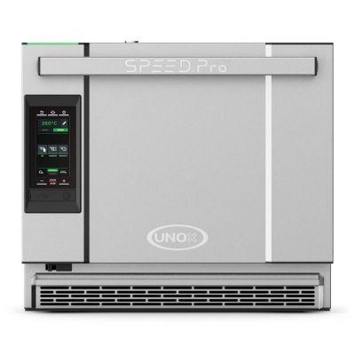 Unox Bakerlux Speed.Pro Fırın, Hızlı Pişirme 46x33 cm 1 Tepsi, Konveksiyonlu Pişirme 46x33 cm 3 Tepsi