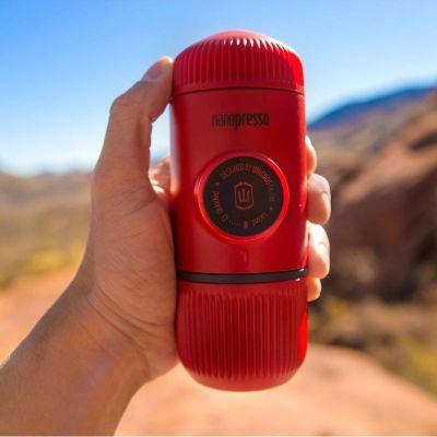 Wacaco - Wacaco Nanopresso Manuel Espresso Makinesi Kırmızı (1)