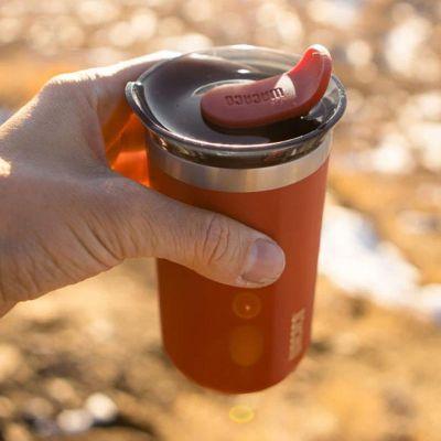 Wacaco - Wacaco Octaroma Lungo Termos Mug, Kırmızı (1)