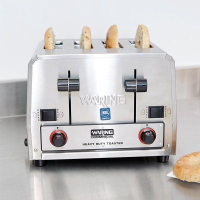 Waring WCT 850 E Ekmek Kızartma Makinesi, 4 Dilim, 2800 W