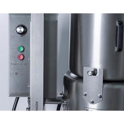 Yazıcılar - Yazıcılar L45IV Sebze Parçalama Makinesi, Ayaklı, Devrilir, 45 L, Saatte 225 Kg (1)