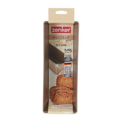 Zenker - Zenker 7356 Mojave Gold Yivli Baton Ekmek Pişirme Kalıbı, 30 cm (1)